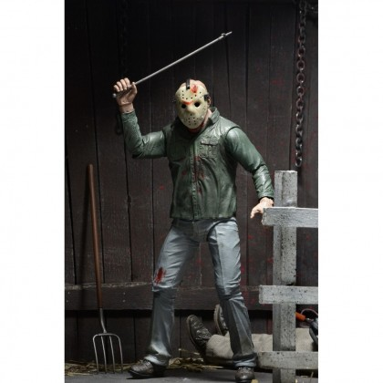 Neca Friday the 13th  7 Scale Action Figure  Ultimate Part 3 Jason