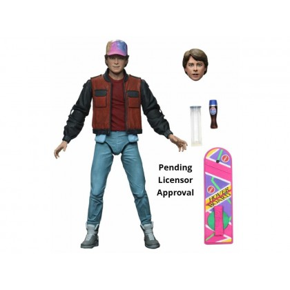 Neca Back to the Future Part 2 Ultimate Marty Figure