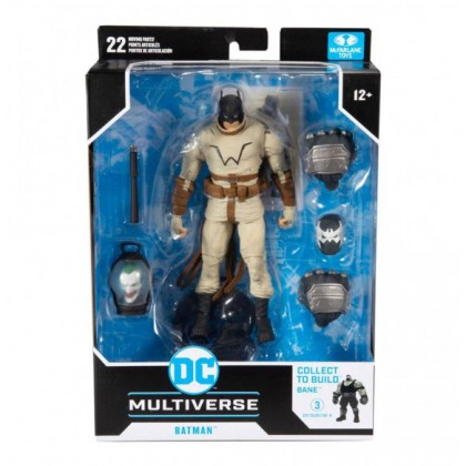 Mcfarlane Last Knight on Earth DC Multiverse Wave 1 Set of 4 Action Figures (Collect to Build: Bane)