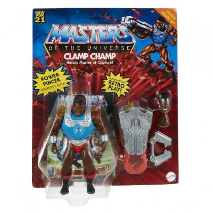 Mattel Masters Of The Universe Origins Clamp Champ Action Figure