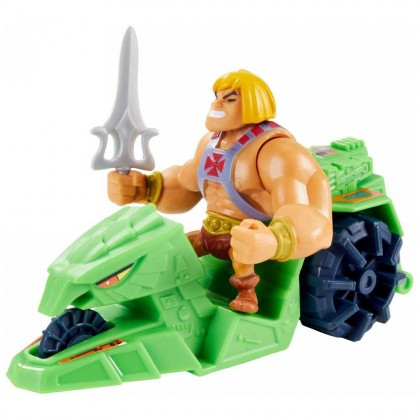 Mattel Masters Of The Universe Eternia Minis Vehicle Or Creature - He-man and Ground Ripper