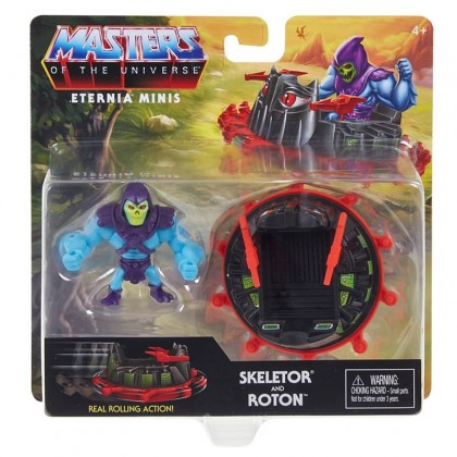 Mattel Masters Of The Universe Eternia Minis Vehicle Or Creature - Skeletor and Roton